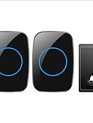 povoljno -Factory OEM Bez žice Jedan do dva zvučna vrata Glazba / Ding Dong Non-visual doorbell
