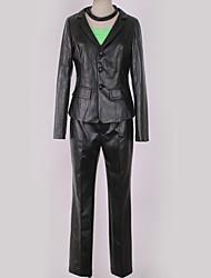 זול -קיבל השראה מ קוספליי קוספליי אנימה תחפושות קוספליי חליפות קוספליי עכשווי מעיל / עליון / מכנסיים עבור בגדי ריקוד גברים / בגדי ריקוד נשים