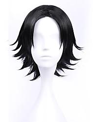 Недорогие -Косплей Косплей Косплэй парики Все Черный Аниме