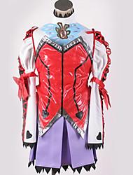 baratos -Inspirado por Fantasias Fantasias Anime Fantasias de Cosplay Ternos de Cosplay Design Especial Saia / Mais Acessórios / Ocasiões Especiais Para Homens / Mulheres