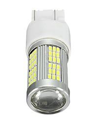 Недорогие -Ксенон 35w 2400lm белый наивысшая мощность 102-smd светодиодная лампа дневного света для Fiat 500