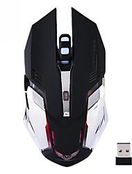Недорогие -OEM X70 Беспроводная связь Bluetooth 3.0 Gaming Mouse / Управление мышью 2400 dpi 5 pcs Ключи 5 программируемых клавиш