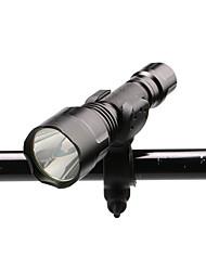 Недорогие -U'King ZQ-X1000#1 Светодиодные фонари Велосипедные фары 1000 lm Светодиодная лампа LED 1 излучатели 3 Режим освещения с батареей и зарядным устройством Масштабируемые Фокусировка Нескользящий захват