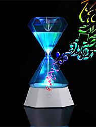 Недорогие -Brelong USB перезаряжаемый 7 цвет светодиодный песочные часы сенсорный ночной свет