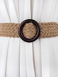 Недорогие -Нетканый материал / Трикотаж На каждый день / Повседневные Кушак С Пояс Жен. Пояса и ленты