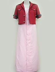 Недорогие -Вдохновлен Final Fantasy Косплей Аниме Косплэй костюмы Японский Косплей Костюмы Однотонный Пальто / Платье / лук Назначение Муж. / Жен.