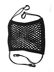 Недорогие -31см * 27см универсальная сумка для автокресла, эластичная нейлоновая сетка, мешки для мусора сзади, сумка для хранения груза