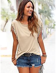 Недорогие -женская блузка больших размеров - цвет блока на шее