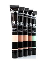billiga Ansikte-5 färger 1 pcs Fuktig Naturlig Dagligen # Professionel / Hög kvalitet multiverktyg / Proffs Dagliga kläder Smink Kosmetisk