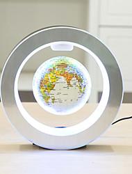 Недорогие -новинка круглая светодиодная карта мира плавающий глобус магнитная левитация свет антигравитация магия / новый светильник