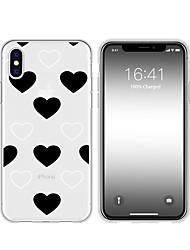 hesapli -Pouzdro Uyumluluk Apple iPhone XR / iPhone XS Max Temalı Arka Kapak Kalp Yumuşak TPU için iPhone XS / iPhone XR / iPhone XS Max