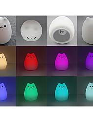 Недорогие -подарки привели usb cat новинка ночные огни 2019 года новые милые дети ночник дистанционного управления сенсорный датчик света домашнего декора освещения