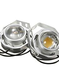 Недорогие -2x 12v-32v 10w белый свет светодиодные дорожные прожекторы противотуманные фары
