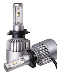 Недорогие -OTOLAMPARA 2pcs H7 / PK26D Мотоцикл / Автомобиль Лампы 25 W CSP1919 4000 lm 12 Светодиодная лампа Налобный фонарь Назначение Mazda / Honda Mazda5 / Yukon XL / CR-V Все года