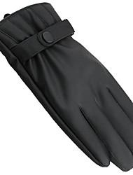 Недорогие -полный палец вождения мотоцикла с сенсорным экраном теплые перчатки