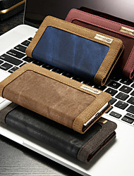 povoljno -CaseMe Θήκη Za Apple iPhone XS Max / iPhone 7 Plus Vodootporno / Utor za kartice / sa stalkom Korice Jednobojni Tvrdo Tekstil za iPhone XS / iPhone XR / iPhone XS Max