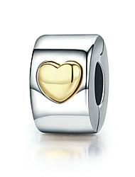 Недорогие -Сердце Бусины Ювелирные изделия DIY - Манжета / Кулоны / Коллекция из бусинок Желтый Браслеты Ожерелье