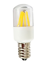 Недорогие -1шт 3 W 140-180 lm E14 T22 4 Светодиодные бусины Декоративная Тёплый белый / Белый 180-240 V