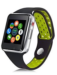 Недорогие -JSBP M3 Смарт Часы Android Bluetooth 2G Smart Водонепроницаемый Сенсорный экран Хендс-фри звонки Секундомер Педометр Напоминание о звонке Датчик для отслеживания активности Датчик для отслеживания сна