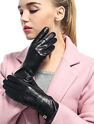 Недорогие -Полныйпалец Муж. / Жен. Мотоцикл перчатки Овчина Сенсорный экран / Дышащий / Сохраняет тепло