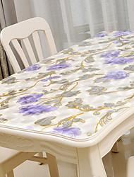 cheap -Contemporary Plastic Square Table Cloth Geometric Table Decorations 1 pcs