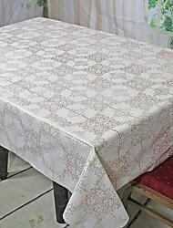 cheap -Contemporary PVC(PolyVinyl Chloride) Square Table Cloth Geometric Table Decorations 1 pcs
