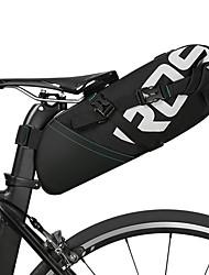 Недорогие -ROSWHEEL 10 L Сумка на бока багажника велосипеда Отражение, Дожденепроницаемый, Водонепроницаемая молния Велосумка/бардачок Полиэстер Велосумка/бардачок Велосумка Велосипедный спорт Велоспорт
