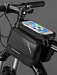 Недорогие -ROCKBROS Сотовый телефон сумка / Бардачок на раму 6 дюймовый Велоспорт для Другие же размера телефоны Черный