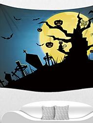 Недорогие -Праздничные украшения Украшения для Хэллоуина Хэллоуин Развлекательный Cool Темно-синий 1шт