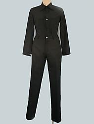 Недорогие -Вдохновлен Final Fantasy Косплей Аниме Косплэй костюмы Японский Косплей Костюмы Однотонный Пальто / Кофты / Брюки Назначение Муж. / Жен.