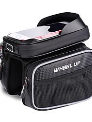 Недорогие -Wheel up Бардачок на раму 6.2 дюймовый Велоспорт для Велосипедный спорт Черный