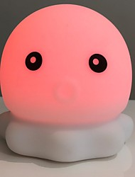 abordables -1pc LED Night Light Rouge USB Créatif / Adorable <=36 V