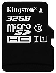 Недорогие -Kingston 32 Гб Карточка TF Micro SD карты карта памяти Class10
