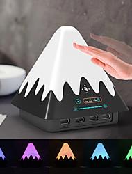 Недорогие -Brelong красочный жест зондирования снег гора ночь свет с USB-порт зарядки 1 шт.