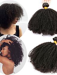 abordables -1 Bundle Cheveux Brésiliens Afro Kinky Cheveux Naturel Rémy Extensions Naturelles 10-28 pouce Tissages de cheveux humains Doux Meilleure qualité Nouvelle arrivee Extensions de cheveux Naturel humains