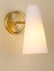 povoljno -Cool Suvremena suvremena Zidne svjetiljke Spavaća soba Metal zidna svjetiljka 220-240V 40 W