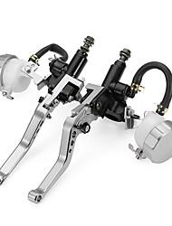 abordables -Motocicleta Palanca del freno del embrague Aleación de Alumnium 1 par (derecha e izquierda) Para Suzuki