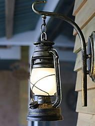 Недорогие -Современный современный Настенные светильники На открытом воздухе Металл настенный светильник 220-240Вольт 40 W / E27