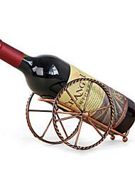 Недорогие -1шт Медь Винные стеллажи Винные стеллажи Классический Вино Аксессуары для Barware