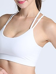 cheap -Women's EU / US Size Sexy 3/4 Cup Bras Sports Bras Solid Colored Nylon