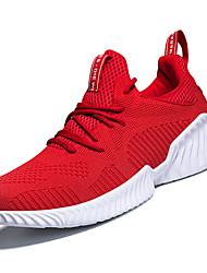Недорогие -Муж. Комфортная обувь Tissage Volant Весна На каждый день Спортивная обувь Для прогулок Дышащий Черный / Серый / Красный