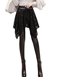 זול -בגדי ריקוד נשים סגנון רחוב צ'ינו מכנסיים אחיד