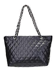 hesapli -Kadın's Çantalar PU Tote için Günlük Siyah