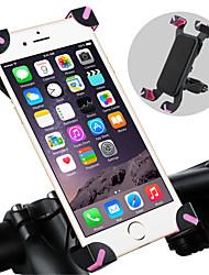 Недорогие -WEST BIKING® Крепление для телефона на велосипед Регулируется / Выдвижной Противозаносный Прочный для Шоссейный велосипед Горный велосипед ПВХ iPhone X iPhone XS iPhone XR Велоспорт