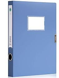 Недорогие -1 pcs deli 5622 Коробка файла A4 PP Custom Label