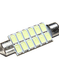 Недорогие -1 шт. Фестон Автомобиль Лампы 1.6 W SMD 5630 240~300 lm 12 Светодиодная лампа Фары дневного света / Подсветка для номерного знака / Лампа поворотного сигнала Назначение Все года