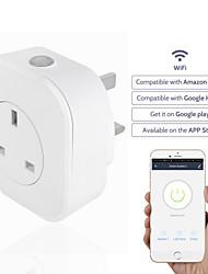 저렴한 -소켓 / 스마트 플러그 타이밍 기능 / USB 포트 포함 / 예정된 시간 1 개 ABS + PC / 750 ° C / 난연제 앱 / Andriod 4.2 이상 / IOS8.0 이상 Amazon Alexa Echo / Google 길잡이 / 둥지