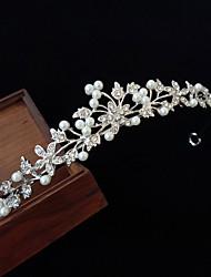 economico -Lega diademi con Perle di imitazione / Crystal / Rhinestone 1 pezzo Matrimonio Copricapo