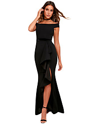 cheap Party Dresses-Women  039 s Party Basic Sheath Dress - Solid Colored 2b432fa4e