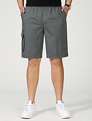 povoljno -Muškarci Osnovni Kratke hlače Hlače Jednobojni
